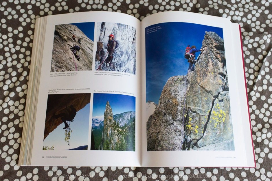 Llibre 50 anys d'excursionisme a Sant Boi.
