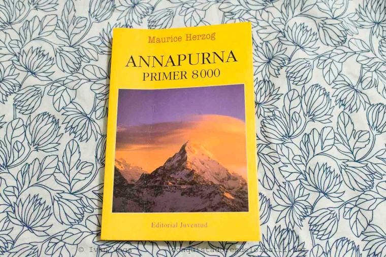 Libro Annapurna primer ochomil de Maurice Herzog